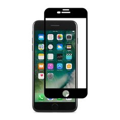 Защитное стекло для iPhone 7 Plus/8 Plus Moshi IonGlass Black (Glossy)