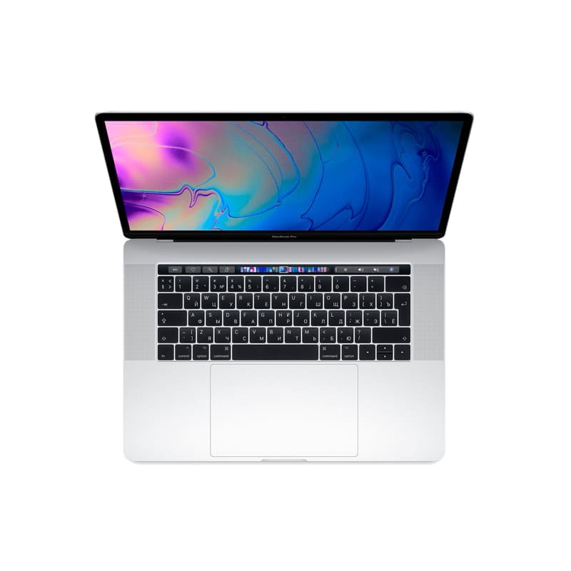 "MacBook Pro 15"" Core i7 2,6 ГГц, 16 ГБ, 256 ГБ SSD, Radeon Pro 555X, Touch Bar, Silver, MV922"