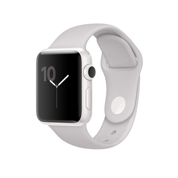 Watch Edition Series 2 42mm White Ceramic Case with Cloud Sport Band