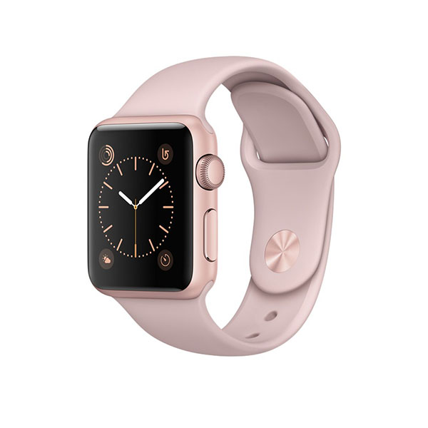 Watch Series 2 38mm Rose Gold Aluminum Case with Pink Sand Sport Band