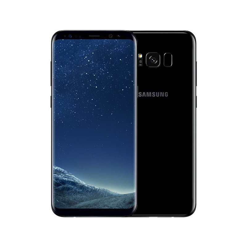 Galaxy S8 64Gb Duos Midnight Black (Черный бриллиант)