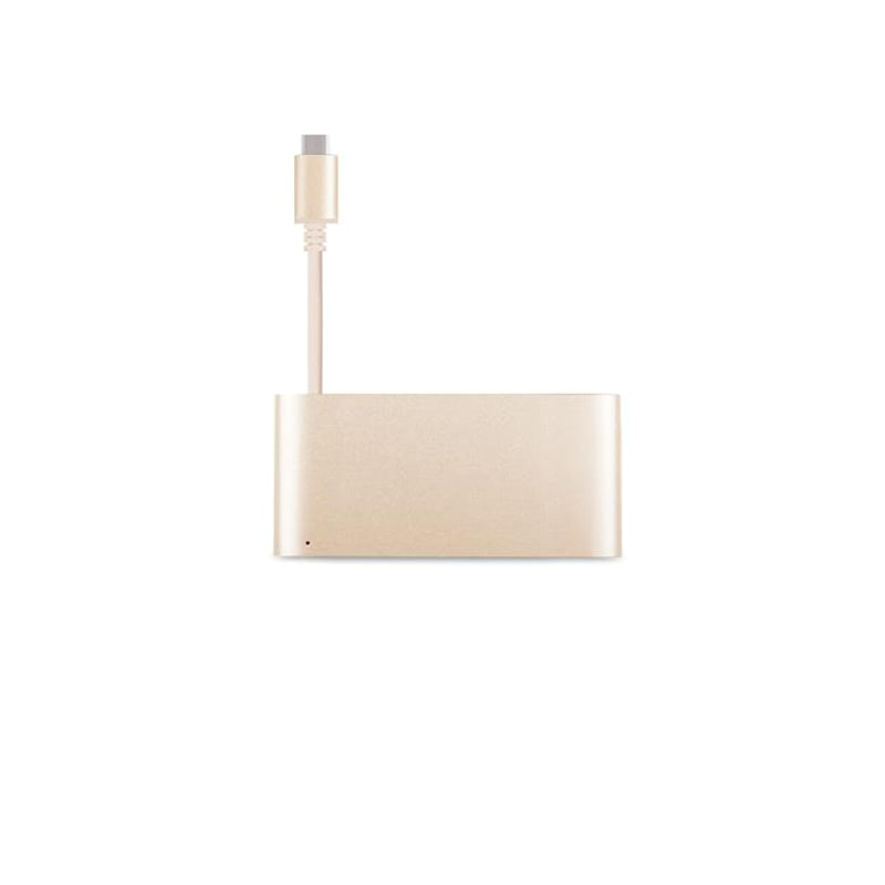 Адаптер Moshi USB-C Multiport  Satin Gold