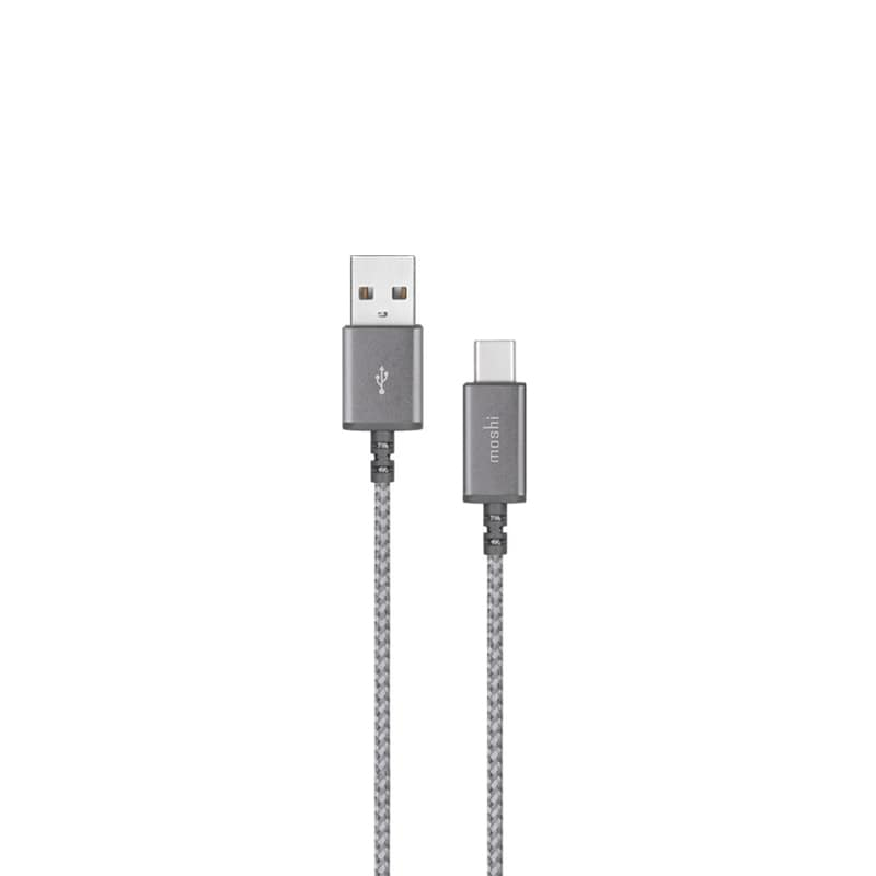 Кабель Moshi Integra USB-C to USB Titanium Gray 1,5м