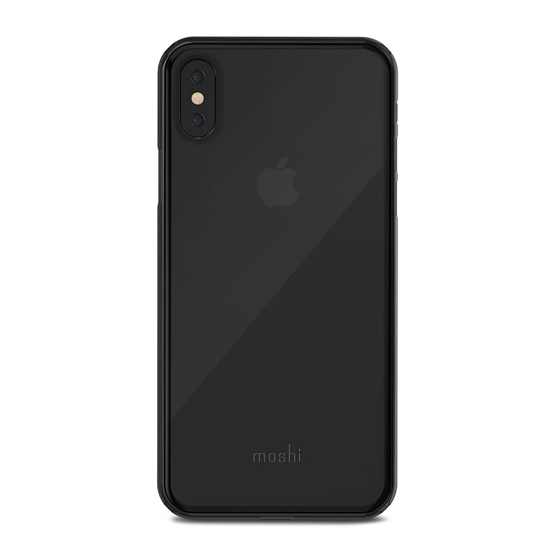 Чехол для iPhone X Moshi SuperSkin Stealth Black