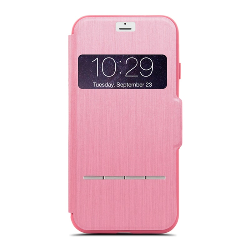 Чехол для iPhone 8/7 Moshi SenseCover Rose Pink