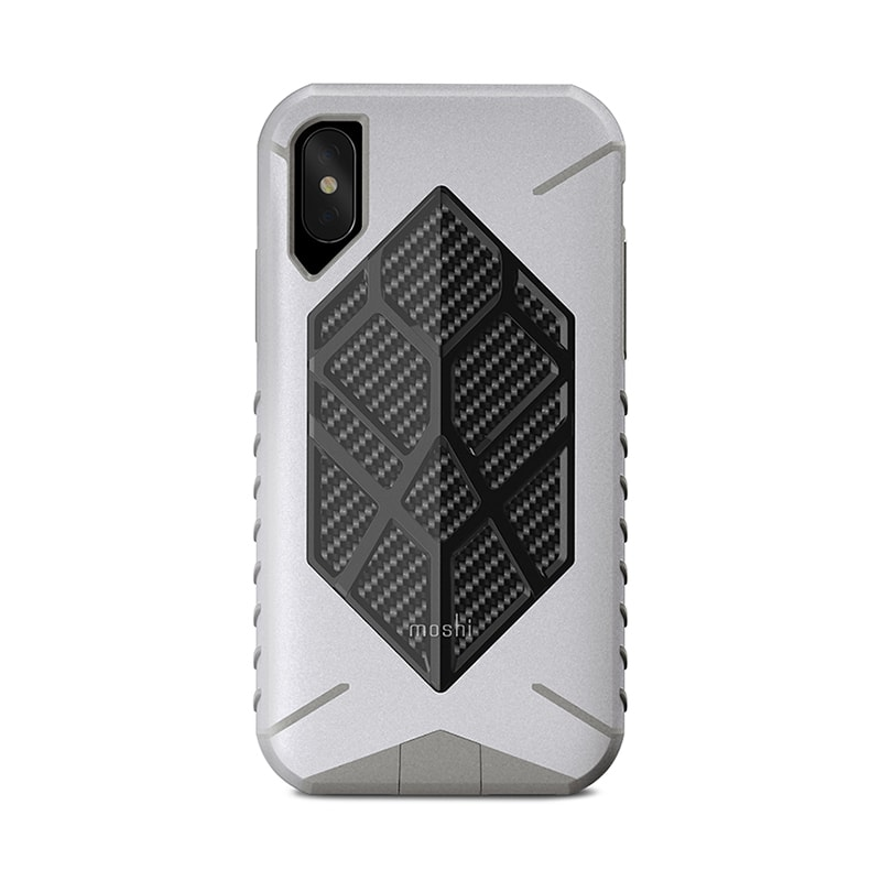 Чехол для iPhone X Moshi Talos Admiral Gray