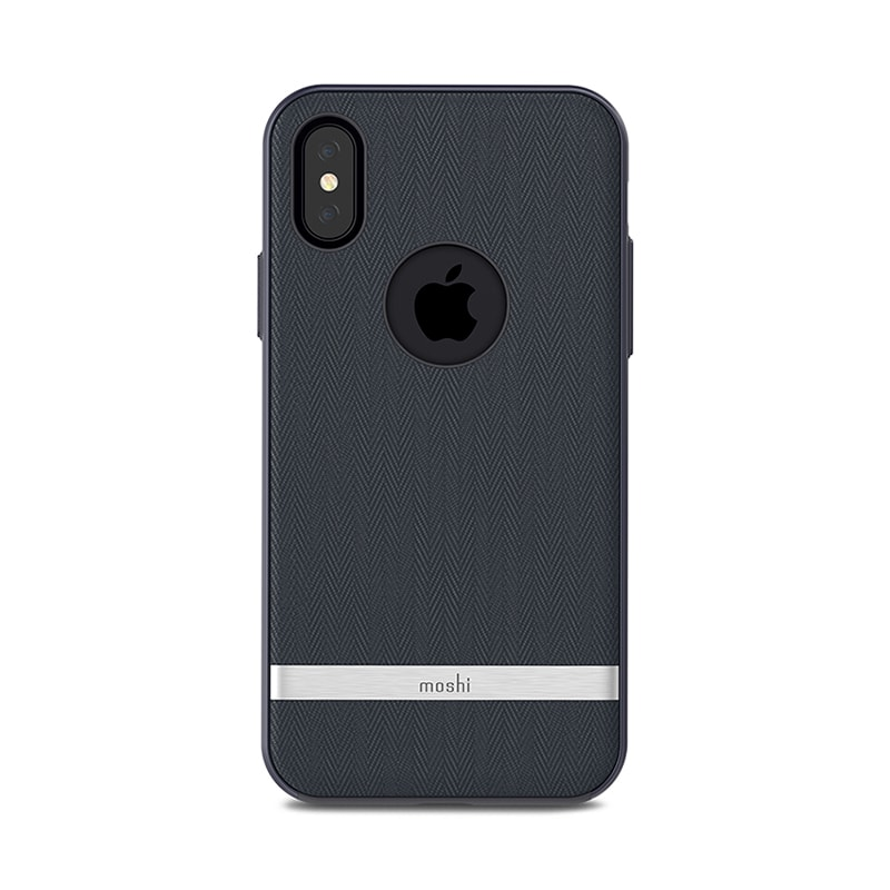 Чехол для iPhone X Moshi Vesta Bahama Blue