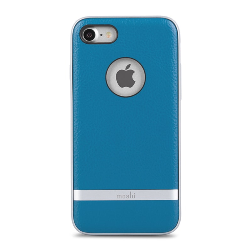 Чехол для iPhone 8/7 Moshi Napa Marine Blue
