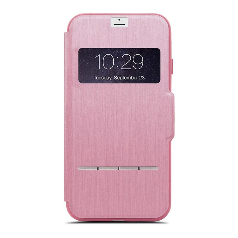 Чехол для iPhone 8 Plus/7 Plus Moshi SenseCover Rose Pink