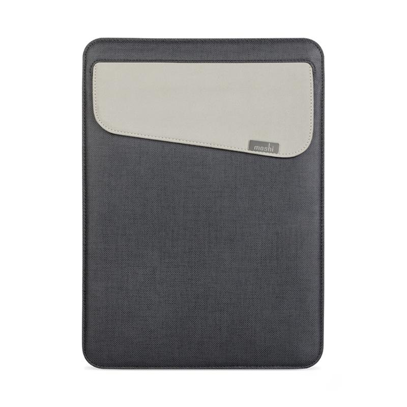 "Чехол для MacBook 12"" Moshi Muse Microfiber Sleeve Case Graphite Black"