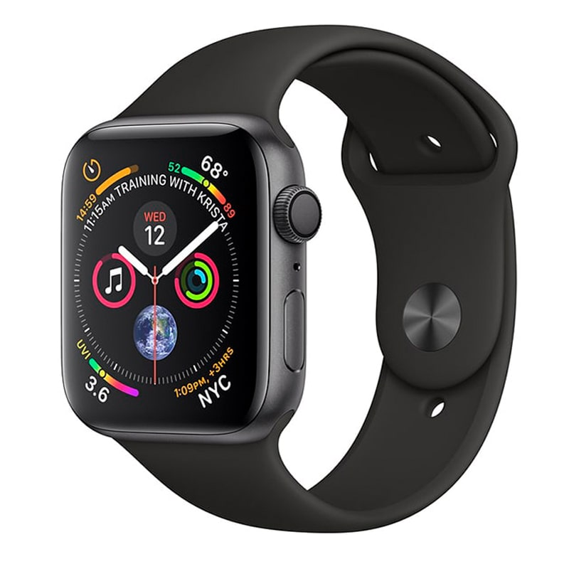 Watch Space Gray 44 mm Aluminum Case with Black Sport Band