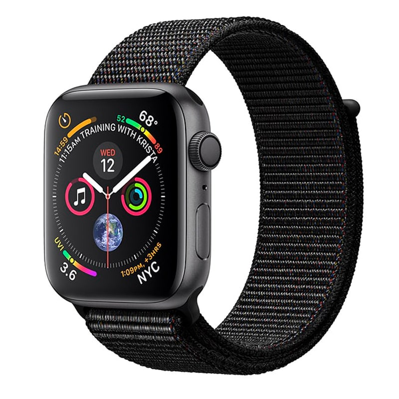 Watch Space Gray 44 mm Aluminum Case with Black Sport Loop